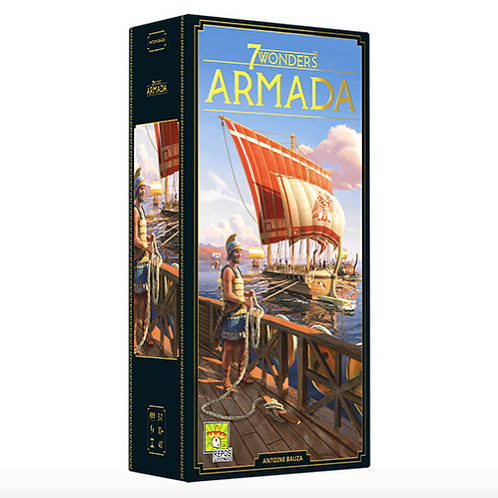 7 Wonders Expansion Armada New edition VA