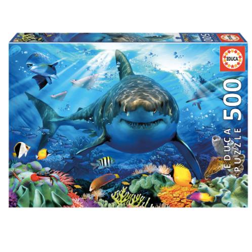 500 pcs - Grand requin blanc - Educa
