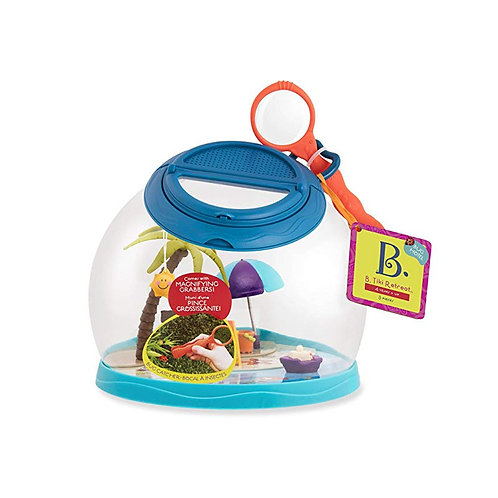 Battat - Dome deluxe Tiki Retreat pour insectes