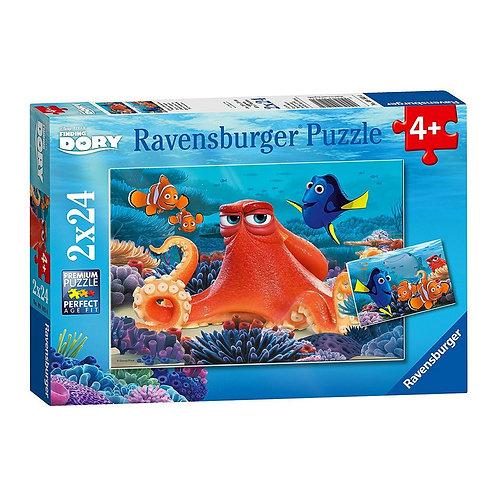 2x24 Pcs - Ravensburger - Doris, toujours nager
