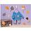 Thumbnail: Zapf - Ensemble de jogging bleu pour poupée - 30cm