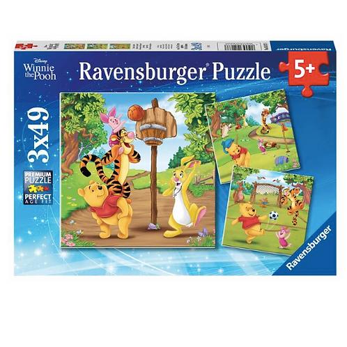 3x49 pcs - Ravensburger - Winnie the Pooh