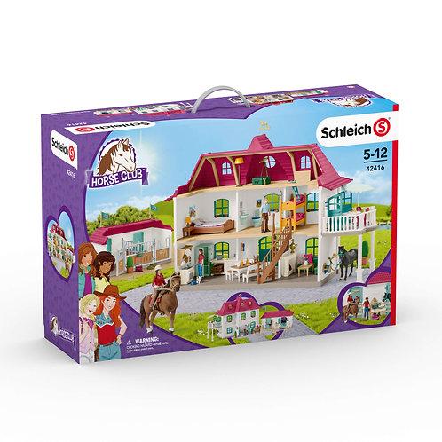 Schleich - Large écurie avec maison