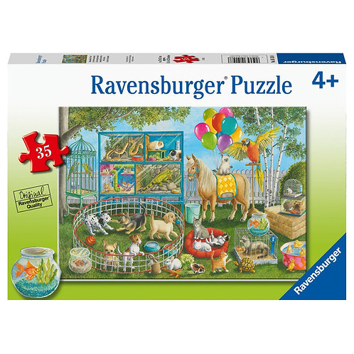 35 Pcs - Ravensburger - Pet fair
