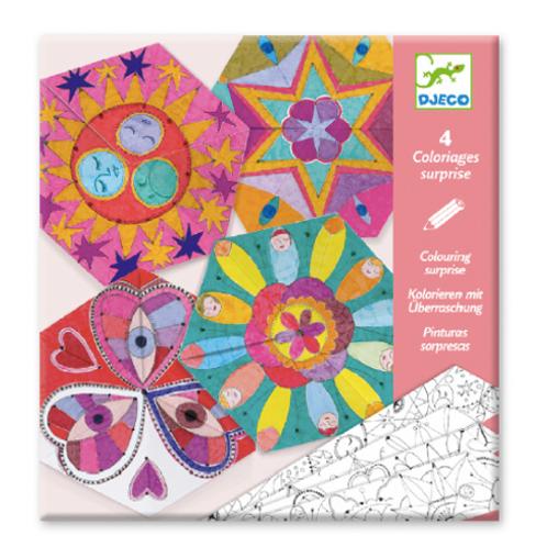 Coloriages surprises / Mandalas constellations