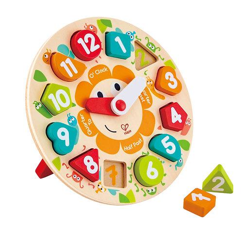 HAPE - Puzzle à grosses pièces - Horloge
