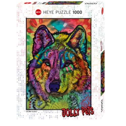 1000 pcs - HEYE - Jolly Pets - Wolf's soul