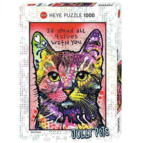 1000 pcs - HEYE - Jolly Pets - 9 Lives