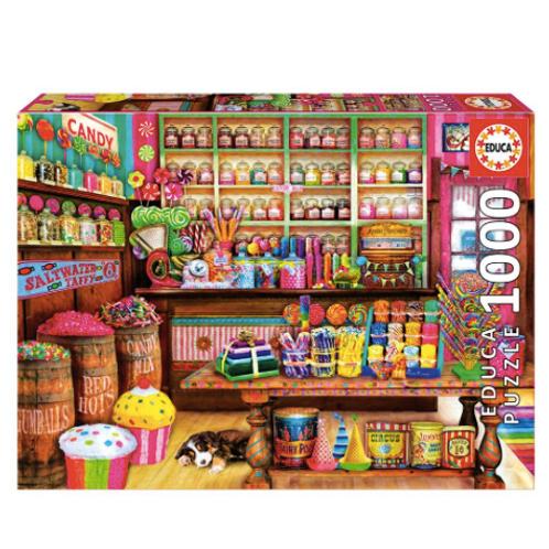 1000 pcs - Magasin de bonbons - Educa