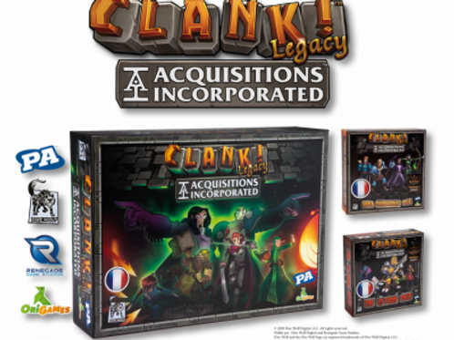 Clank! Legacy : Acquisitions Incorporated + 2 extensions VF