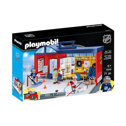 PLAYMOBIL - NHL - Aréna de Hockey transportable