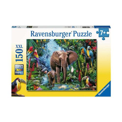 150 Pcs  - Éléphants de la jungle