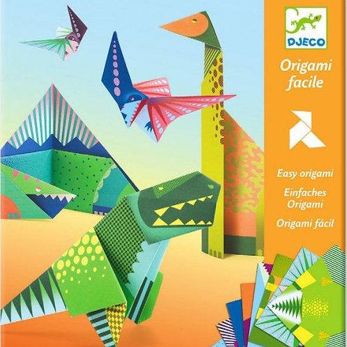 Djeco - Origami facile: Dinosaures