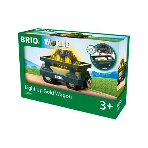 Brio - Wagon lumineux chargé d'or