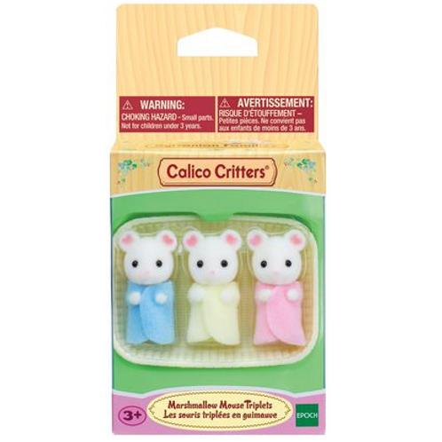 Calico Critters - Les souris triples en guimauve