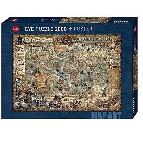 2000 pcs - HEYE - Pirate World