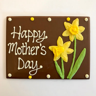 Mother's Day Daffodil Plaque
