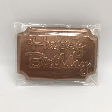 Dairy Free Birthday Bar