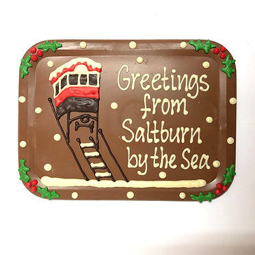 Large Christmas Saltburn Plaque