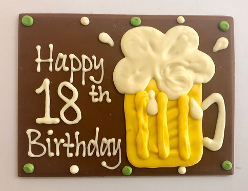 Happy Birthday 18th/21st beer