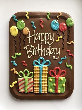 Happy Birthday Large Presents