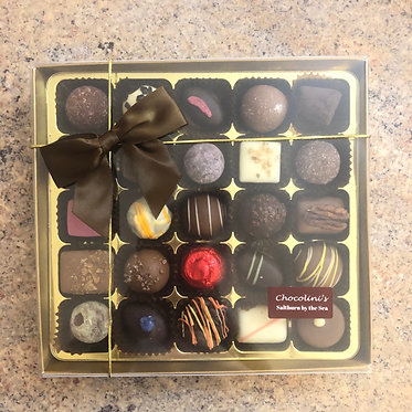 25 Box of assorted chocolates