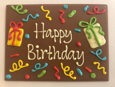 Happy Birthday confetti
