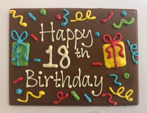 Happy birthday 18th/21st Confetti