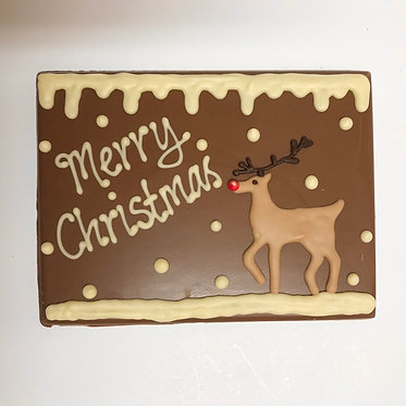 Small Reindeer Plaque