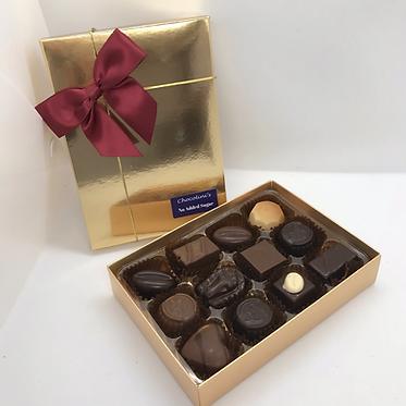 No Added Sugar 12 Chocolate Box