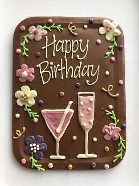 Happy Birthday Large Cocktail