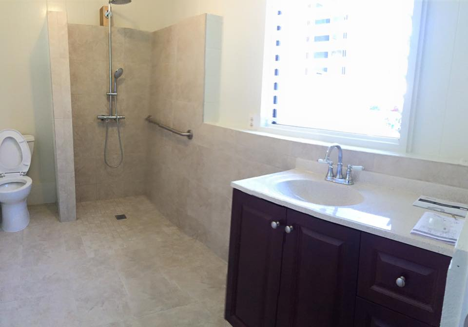 Makawao Handicap Bathroom Remodel