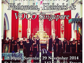 Join us at our 2nd performance of 2014 at St Joseph's Church!