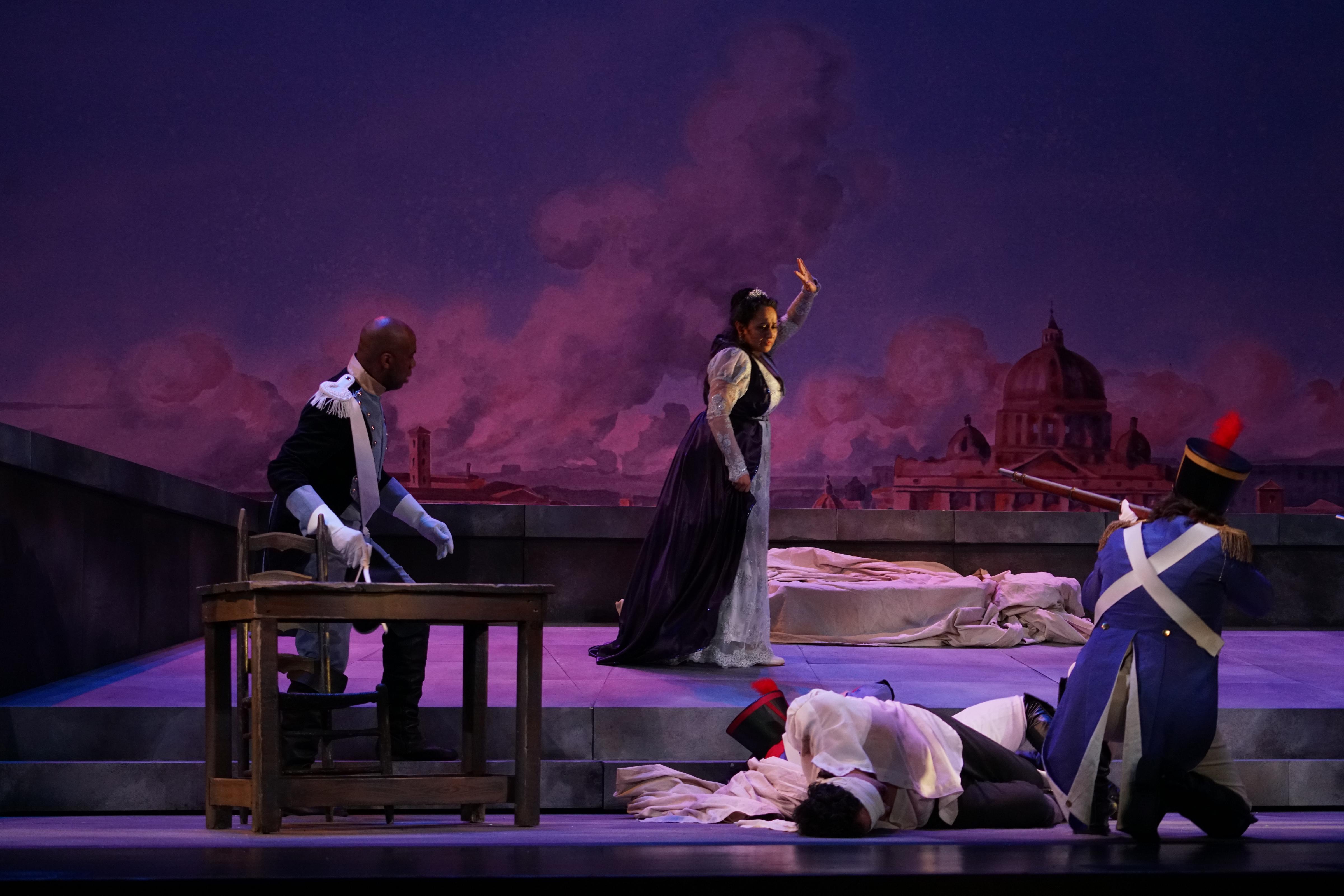 Act III, Tosca