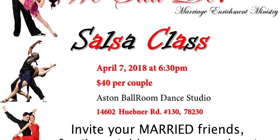 Married Couples Salsa Class