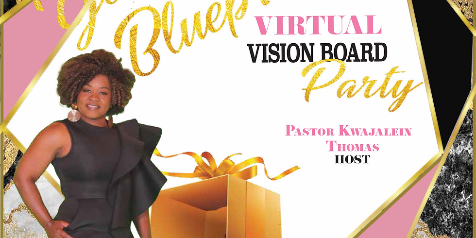 Unboxing Your Life's Blueprint:  Virtual Vision Board Party