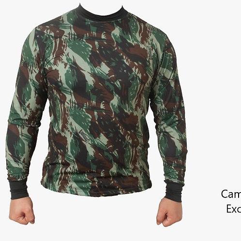 Camiseta Camuflada Exercito