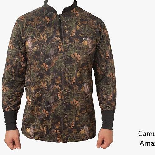 Camiseta Camuflada Amazônia