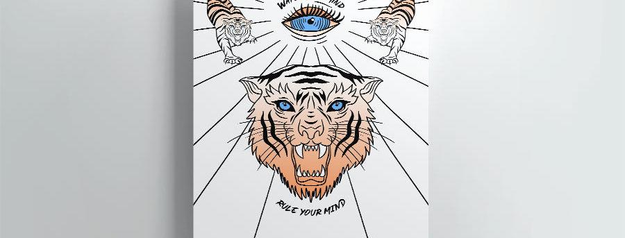 Tiger Poster.