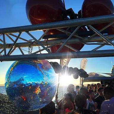 cirque de la nuit ibiza disco ball void