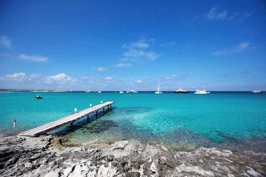 Playa Illetes Formentera