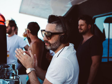 Dario Syrrossian at Ibiza boat Club