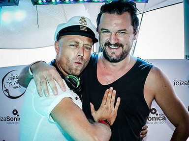 Solomun and HOSH Ibiza Boat Club DJs at Cirque de la Nuit
