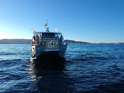 cirque de la nuit ibiza boat club drone