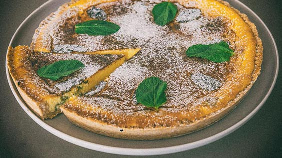 Flao ibiza cheesecake