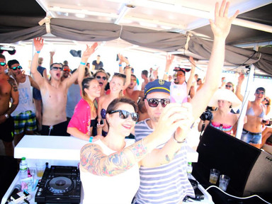 miss kittin and hosh at cirque de la nuit ibiza