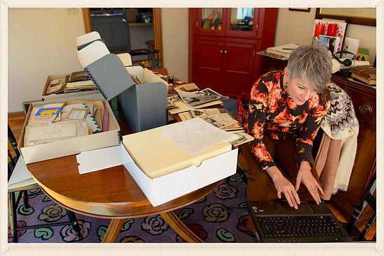 Working with genealogical materials