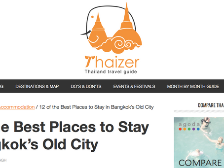 12 of the best places to stay in Bangkok's old city by Thaizer