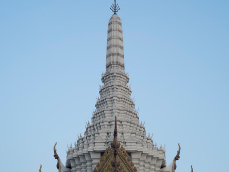 City Pillar – San Lak Mueang, the first building in this new capital