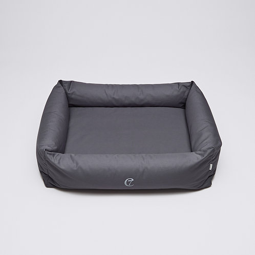 cloud7 sleepy canvas graphite bed